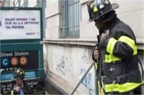 new york city subway train derails dozens injured