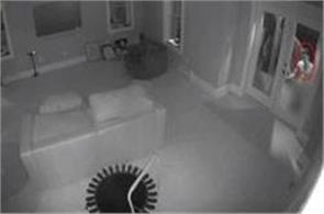 naked man tries to get into home