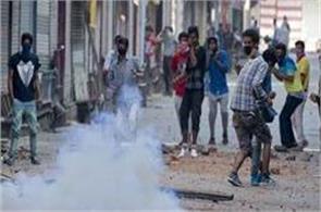 clashes erupt in sumbal against militant killing