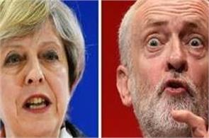 uk election 2017 labor partys jeremy corbyn asks pm theresa mays resignation