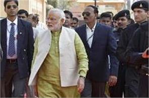 pm narendra modi security