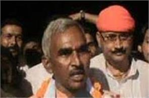 the bjp mla gave the arrest on the police station