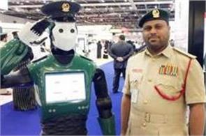 first robotic cop joins dubai police