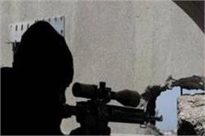 is terrorist shot at his head from a distance of 3 5 kilometers by a sniper
