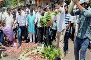 chhattisgarh farmers protest after madhya pradesh