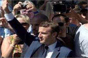 macron aims to consolidate power as france elects parliament