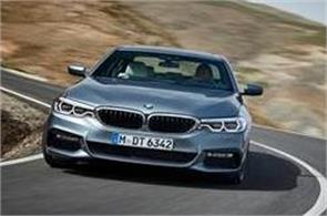 new bmw 5 series will be launched tomorrow  will give them a collision