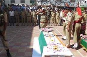 police official donate one day salary to martyrs