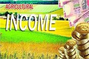 it is not wise to advocate tax on agricultural income
