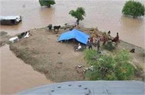 army rescues 31 people in flood affected districts of rajasthan