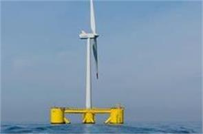world  s first floating windmill  farm in scotland