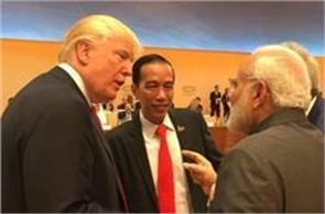 trump to meet modi himself
