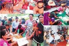 amarnath yatra 2017 devotees excited to see shivalinga