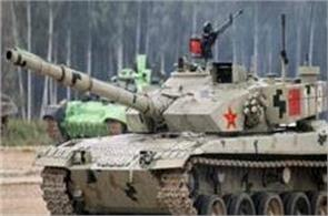 maneuvered with tanks on the border