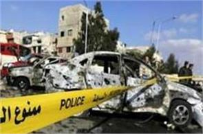 suicide bombing hits damascus casualties feared state tv