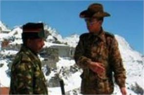 chinese soldiers climbing up to 1 kilometer in indian territory