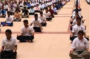 aicte  college   students  yoga  degree