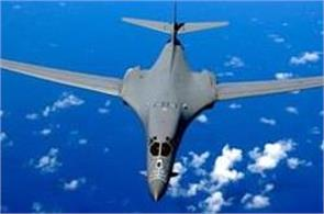 us flies bombers over korean peninsula after icbm test