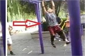 grandmother stunt viral video
