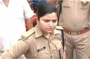 transfer of woman police officer who takes action on bjp leader