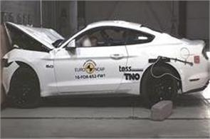 ford mustang got 3 star rating in crash test
