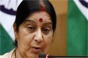 no news of injuries to any indian in barcelona attack sushma swaraj