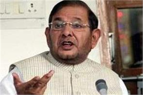 sharad yadav team did nitish kumar countermove