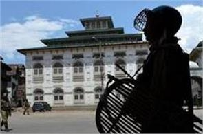 jamia masjid of nahatta has become a stronghold of kashmir politics