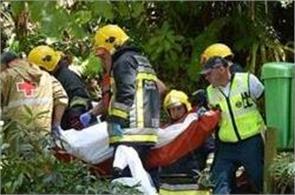 portugal   falling tree kills 13 at catholic festival
