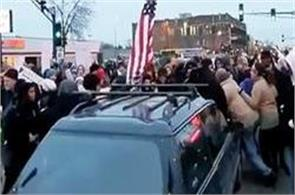fox pulls down video of cars plowing through liberal protesters