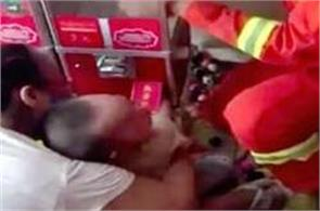 firefighters free toddler hand from toy vending machine