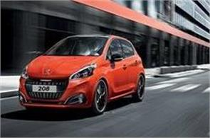during testing peugeot 208 seen in india  learn features