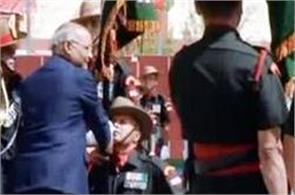 president kovind visited ladakh