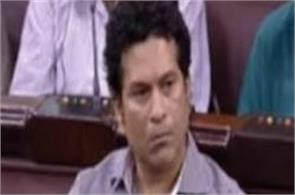 sachin arrives in rajya sabha today