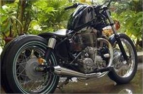 presented in a new style  royal enfield thunderbird lynx