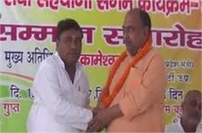 release of deaths in gorakhpur bjp s state minister celebrates happiness