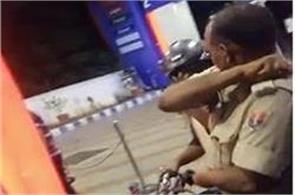 policeman felony from bike rider