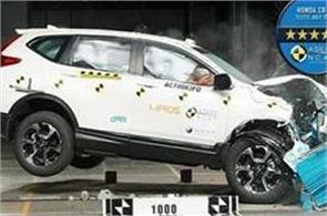 new honda cr v gets 5 star rating in crash test