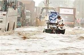 in creating conditions of flood more than nature role