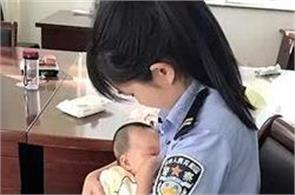 female cop breastfeeds suspect hungry baby hits the internet