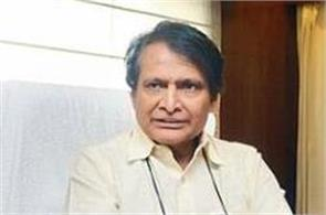 prabhu tweeted the railway staff