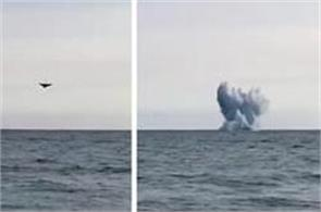 jet crashes into sea during air show in italy