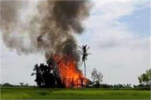 new fires ravage rohingya villages in northwest myanmar