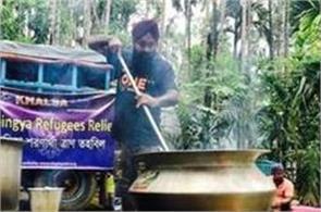 rohingya muslims refugees crisis khalsa aid sikh volunteers guru ka langar