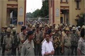 bhu violence 125 sp workers in police custody