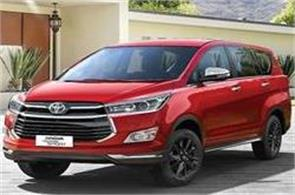 new edition of toyota innova touring sport priced at rs 19 60 lakh