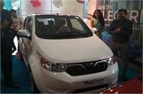 another electric car introduced by mahindra in india learn features