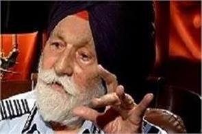 air marshal arjan singh condition serious