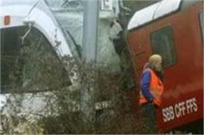 train crash horror 30 injured after two trains collide