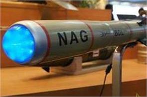 anti tank missile nag drdo had successful test